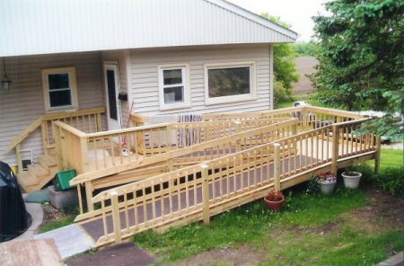 an example of a residential ramp