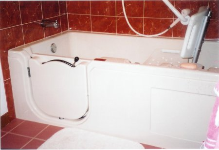 Bathtub With A Door