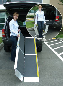Portable Trifold Ramp