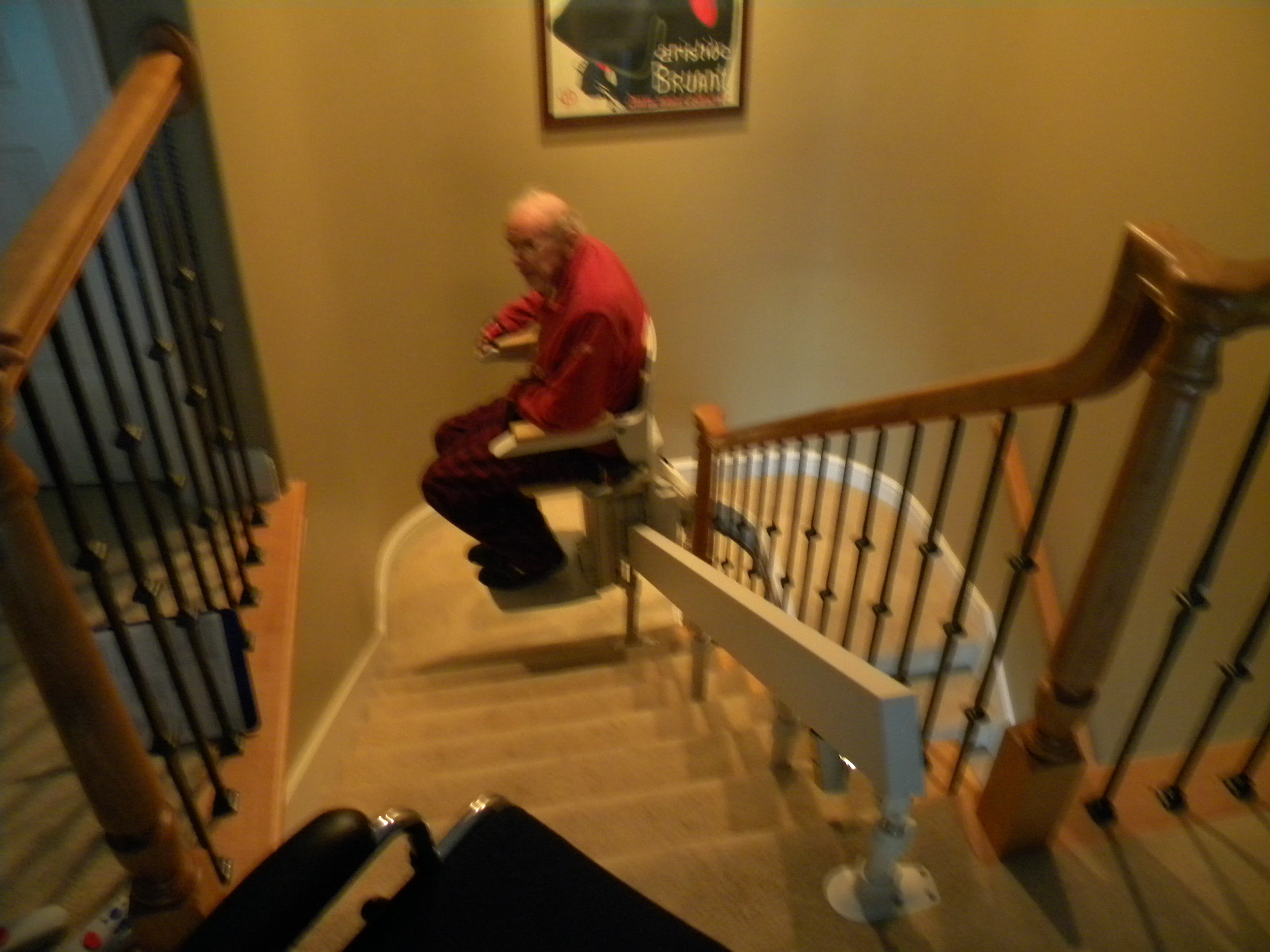 Stair lifts - Stairlift for curved staircase ...