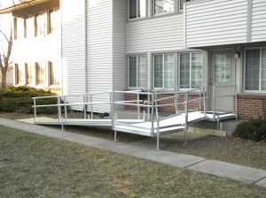 Aluminum Ramp Photo 1