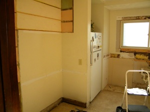Kitchen during remodel photo 2