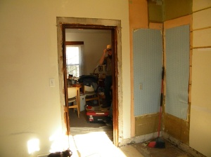 Kitchen during remodel photo 3